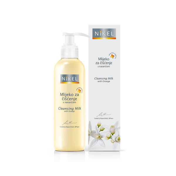 NiKEL Cleansing Milk with Orange