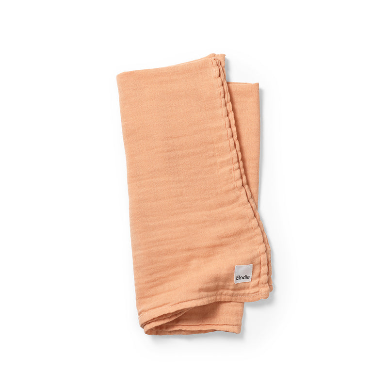 ELODIE DETAILS AMBER APRICOT BAMBOO MUSLIN PELENA