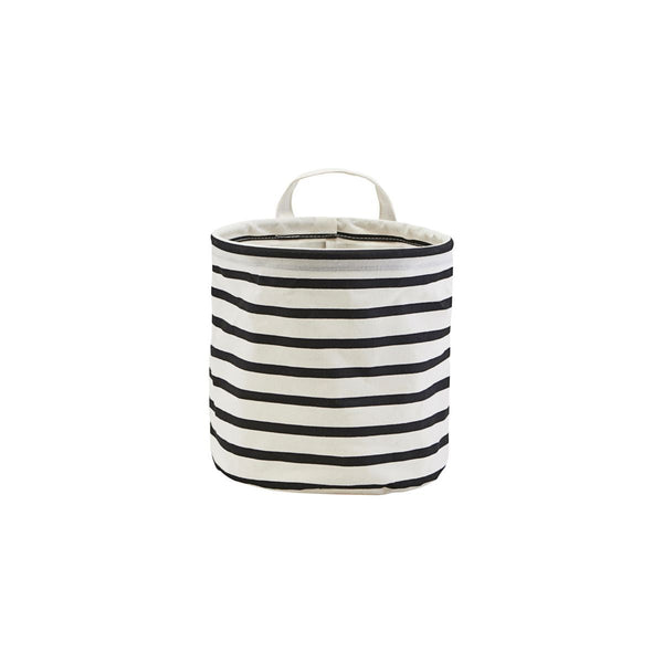 House Doctor Storage, Stripes, black/white