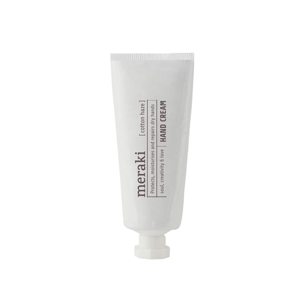 Meraki Hand Cream, Cotton Haze