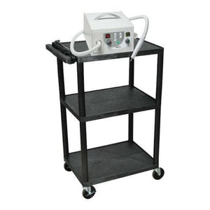 3 Shelf Podiatry Cart-FILESTRM-C-Medicool
