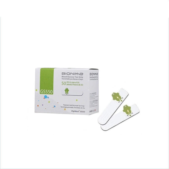 Bionime 550 Test Strips