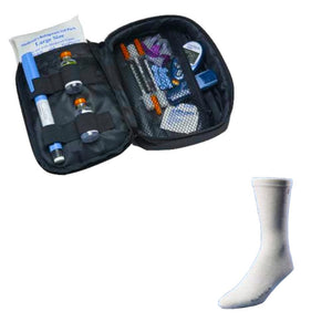 Daily Diabetic Organizer® Case and Euro Sock