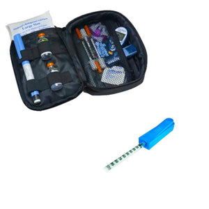 Daily Diabetic Organizer® Case and Mediclip