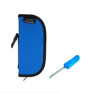 Dia-Pak® Daymate Blue Insulin Carrying Case and Medi-Clip Bundle