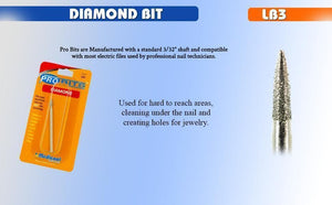 Diamond Micro Oval Bit for Dental-LB3-Medicool