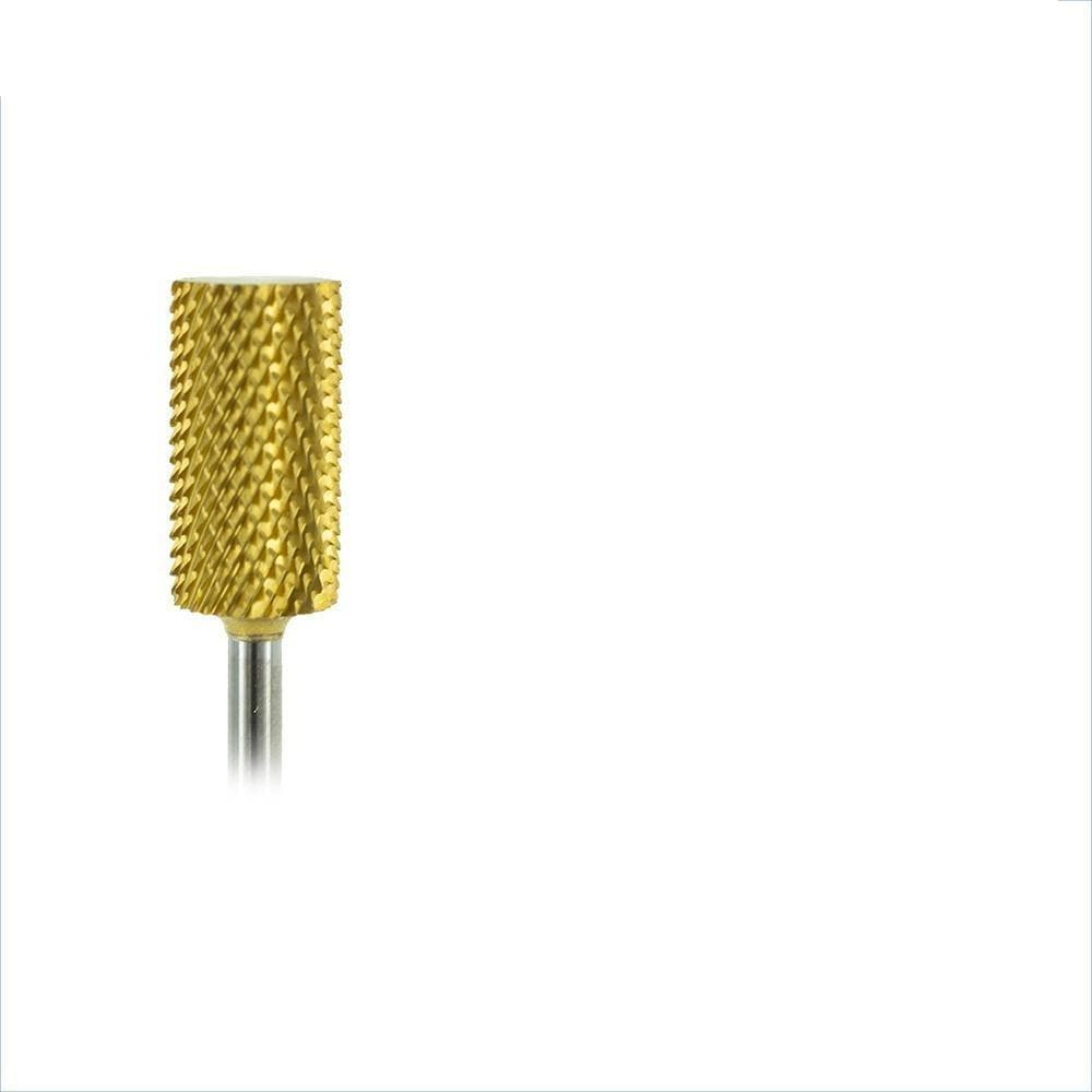 Gold Carbide Barrel Bits for Nails-CC11-Medicool