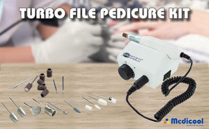 TurboFile 2 Pedicure Kit