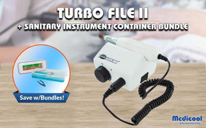 TurboFile II + Sanitary Instrument Container