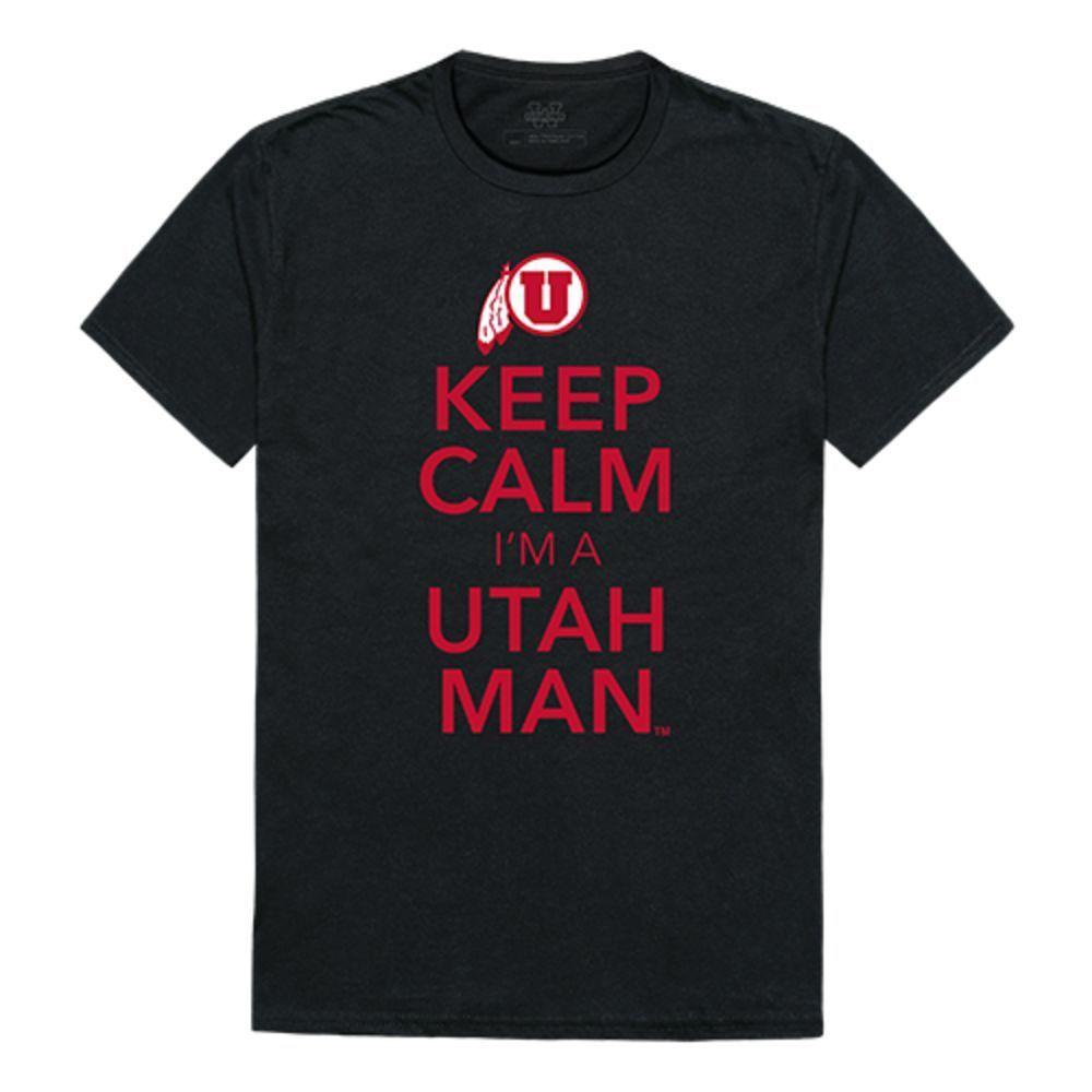University of Utah Utes NCAA Keep Calm Tee T-Shirt