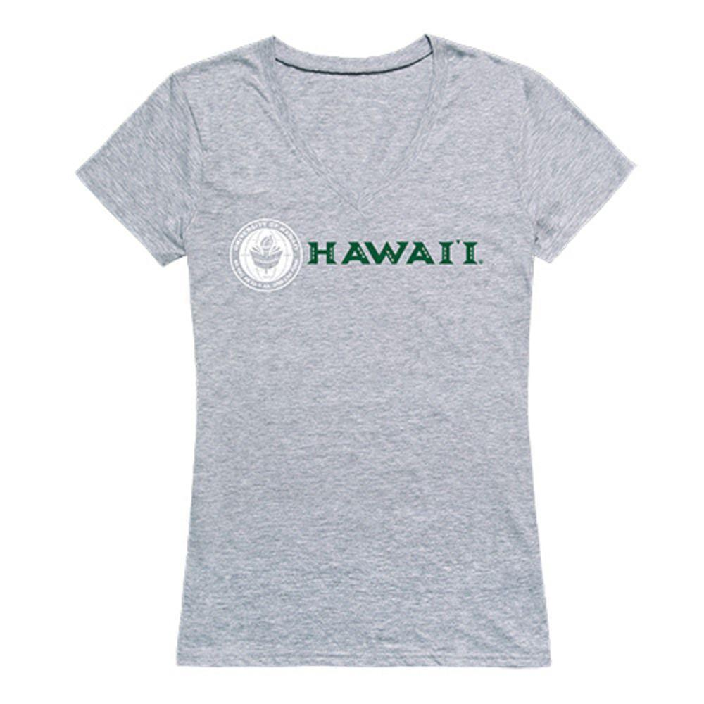 University of Hawaii Rainbow Warriors NCAA Women's Seal Tee T-Shirt