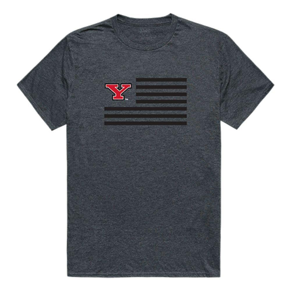 Youngstown State University Penguins NCAA Flag Tee T-Shirt