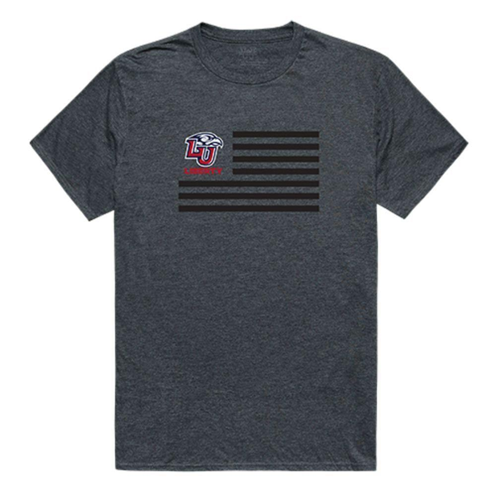 Liberty University Flames NCAA Flag Tee T-Shirt