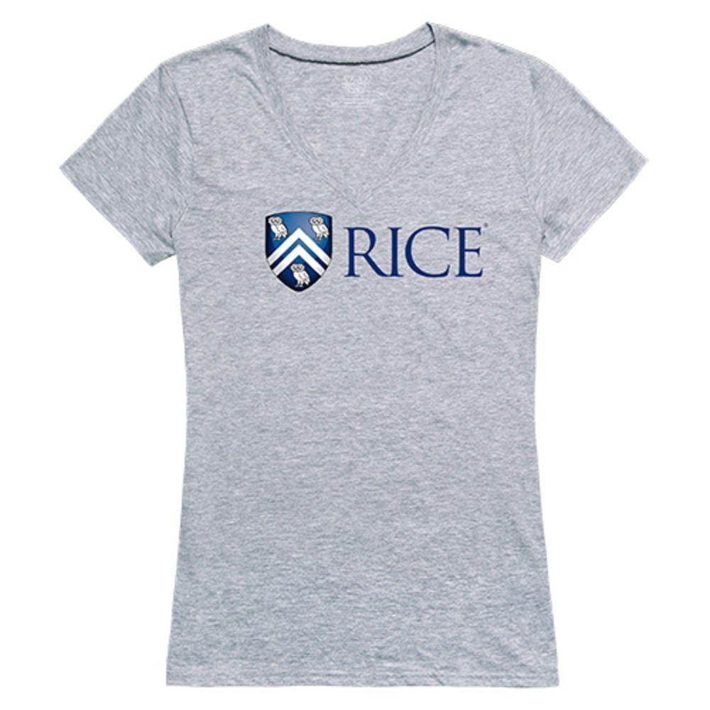 Rice University Owls NCAA Women's Seal Tee T-Shirt
