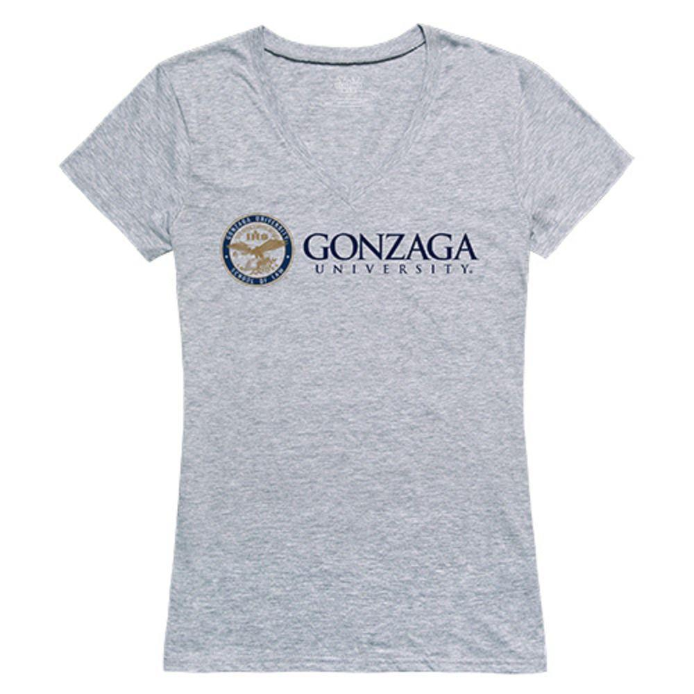 Gonzaga University Bulldogs NCAA Women's Seal Tee T-Shirt