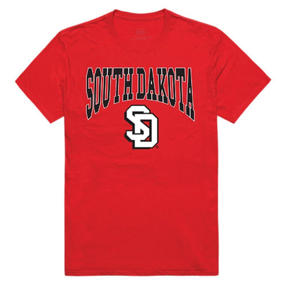 University of South Dakota Coyotes NCAA Athletic Tee T-Shirt Red