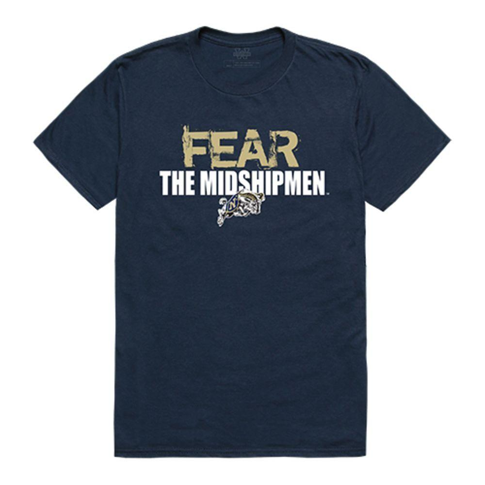 United States Naval Academy Midshipmen NCAA Fear Tee T-Shirt