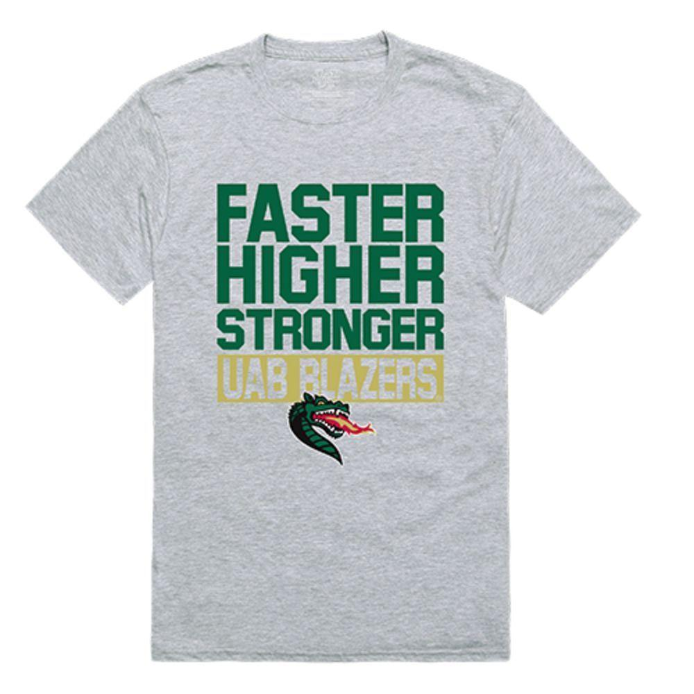 UAB University of Alabama at Birmingham Blazer NCAA Workout Tee T-Shirt