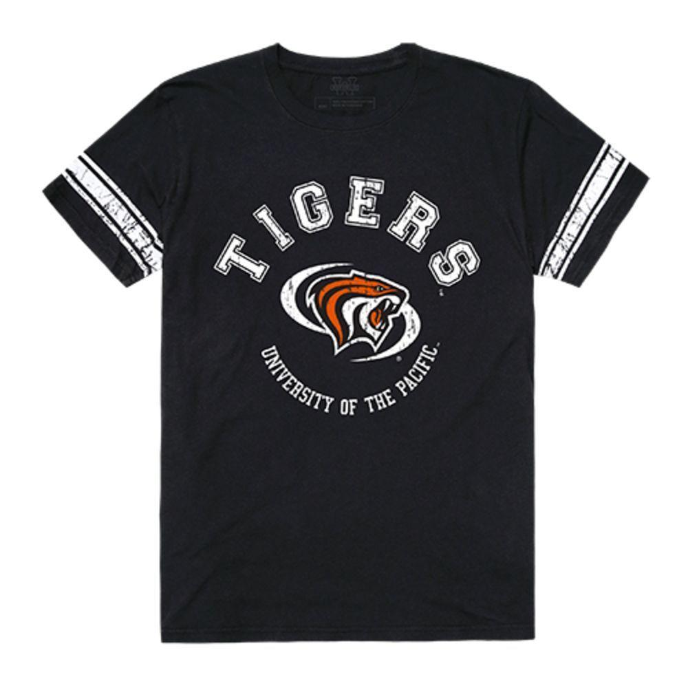University of the Pacific Tigers NCAA Men's Football Tee T-Shirt