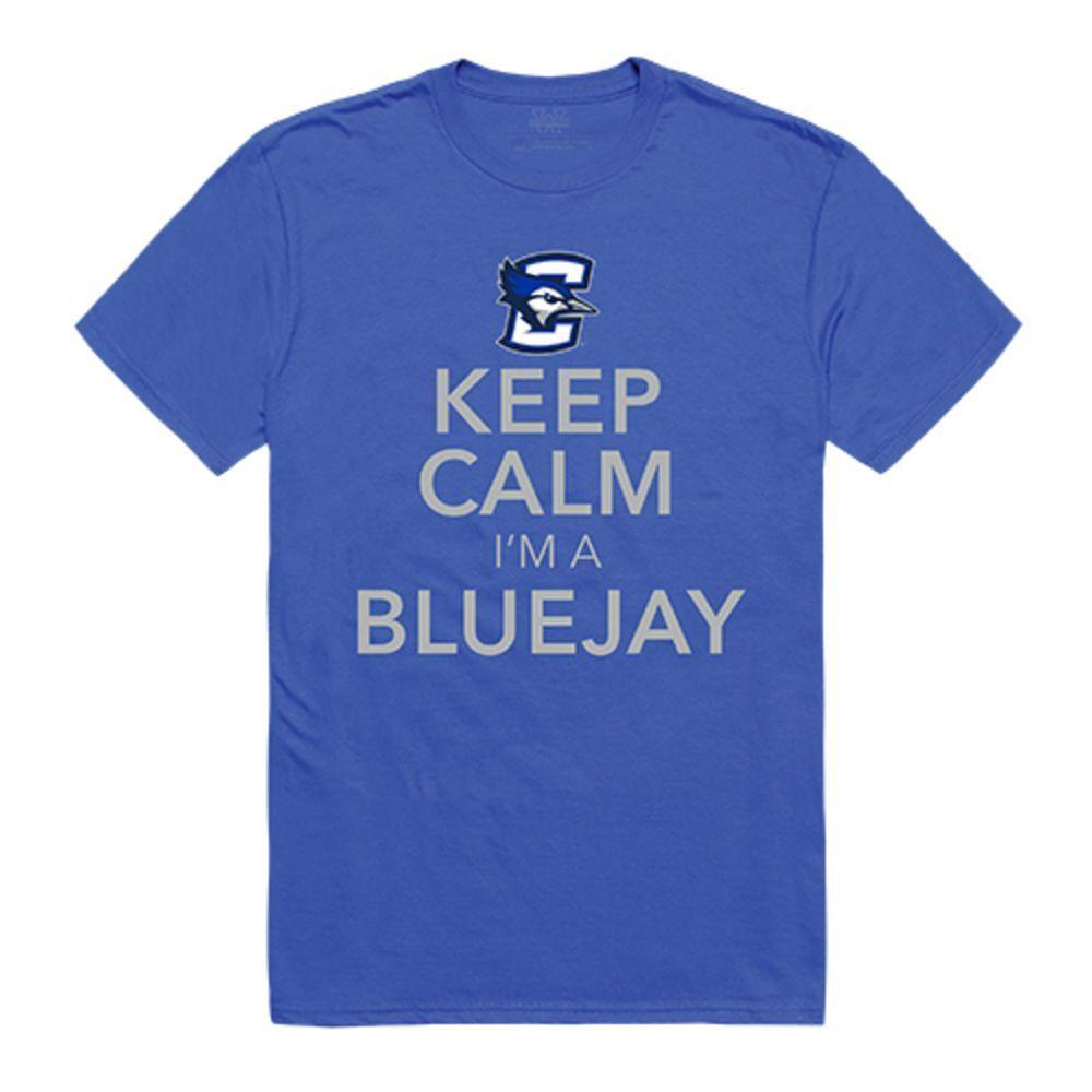 Creighton University Bluejays NCAA Keep Calm Tee T-Shirt Royal