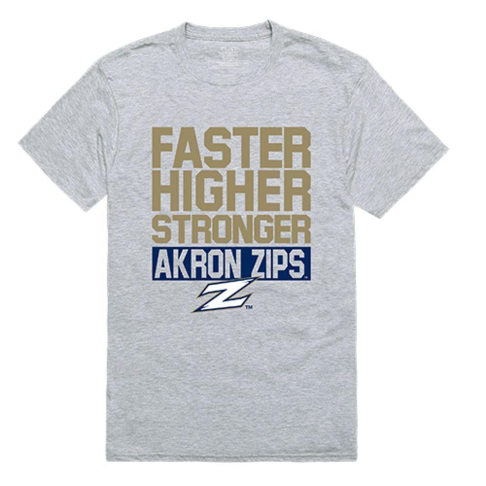 University of Akron Zips NCAA Workout Tee T-Shirt