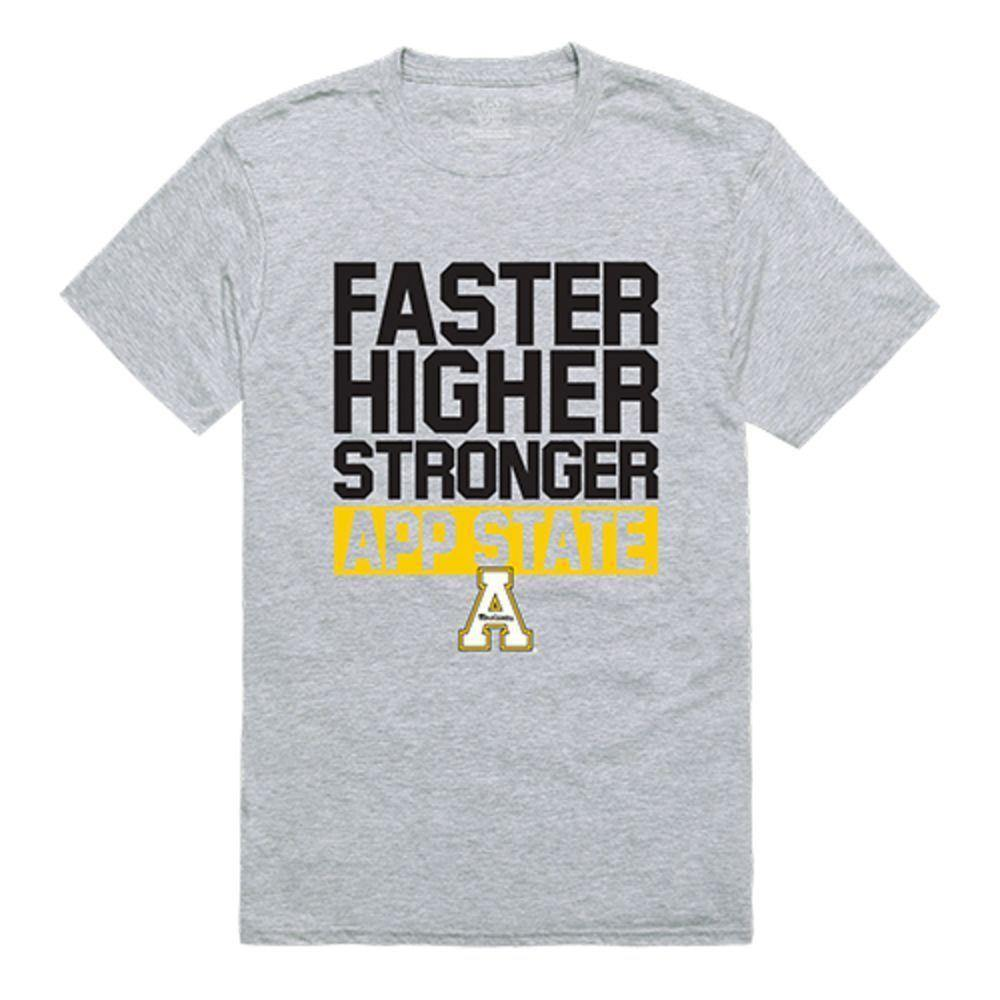 Appalachian State University Mountaineers NCAA Workout Tee T-Shirt
