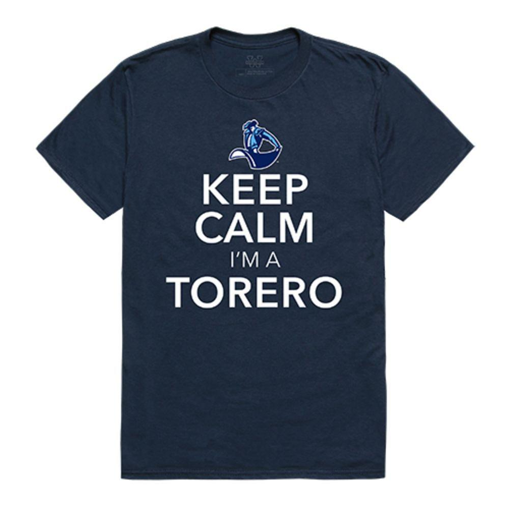 University of San Diego Toreros NCAA Keep Calm Tee T-Shirt