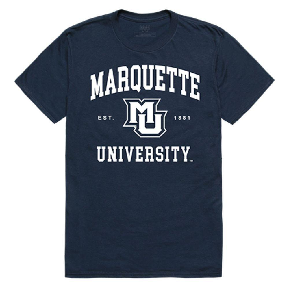 Marquette University Golden Eagles NCAA Seal Tee T-Shirt