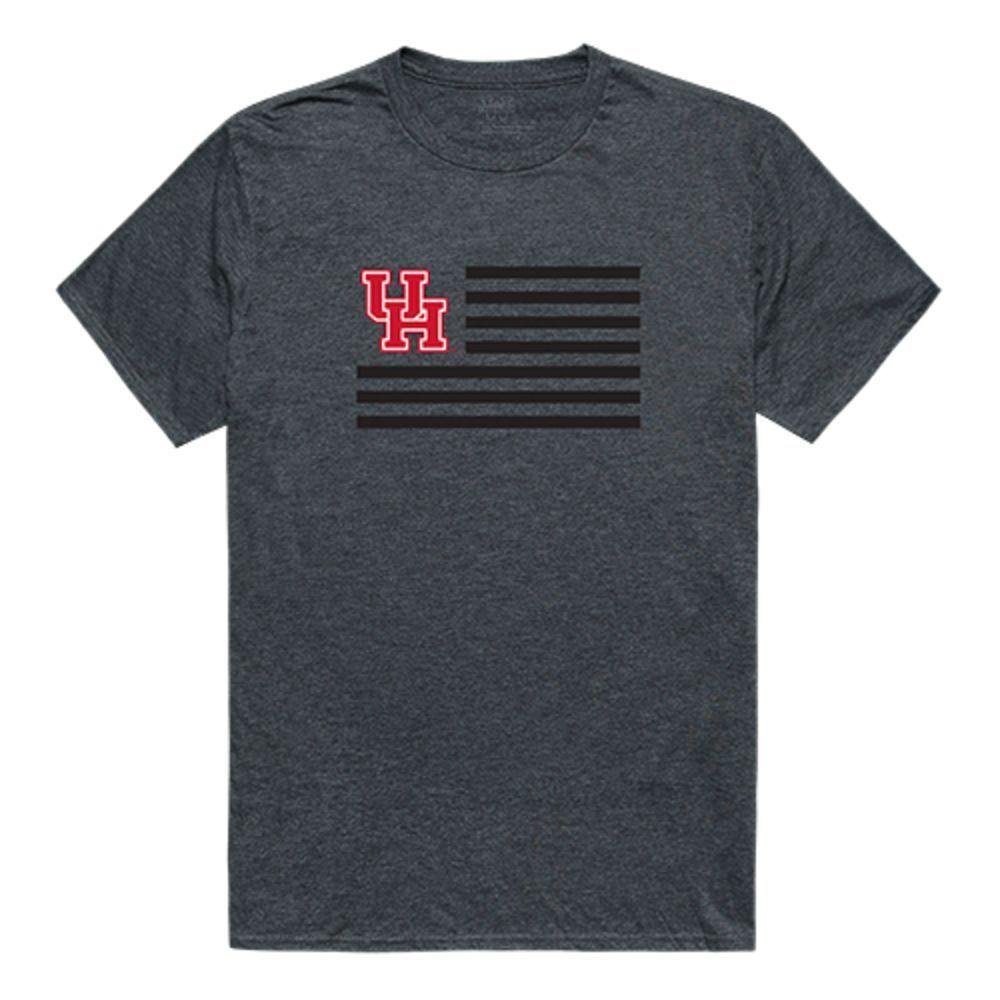 University of Houston Cougars NCAA Flag Tee T-Shirt