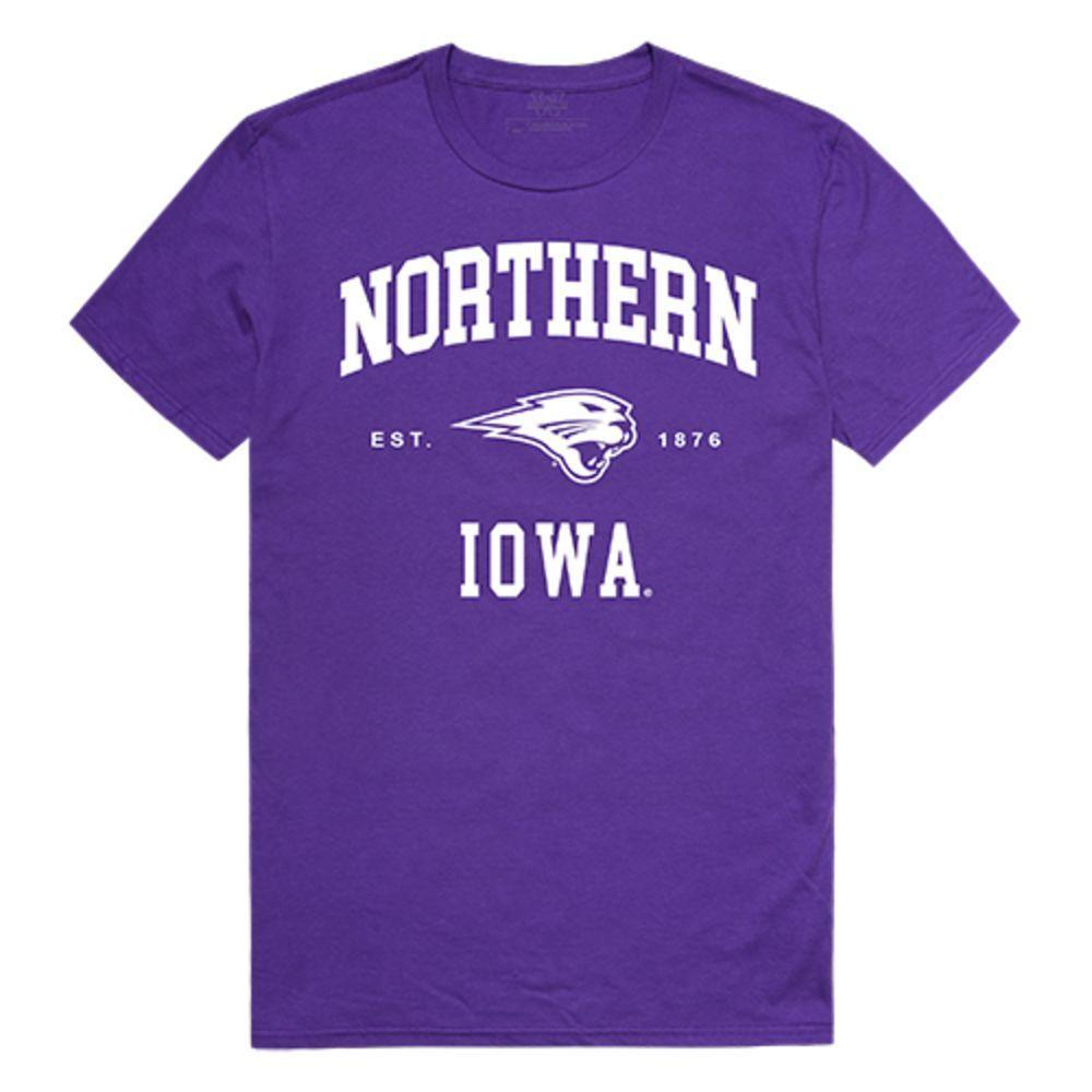 University of Northen Iowa Panthers NCAA Seal Tee T-Shirt Purple