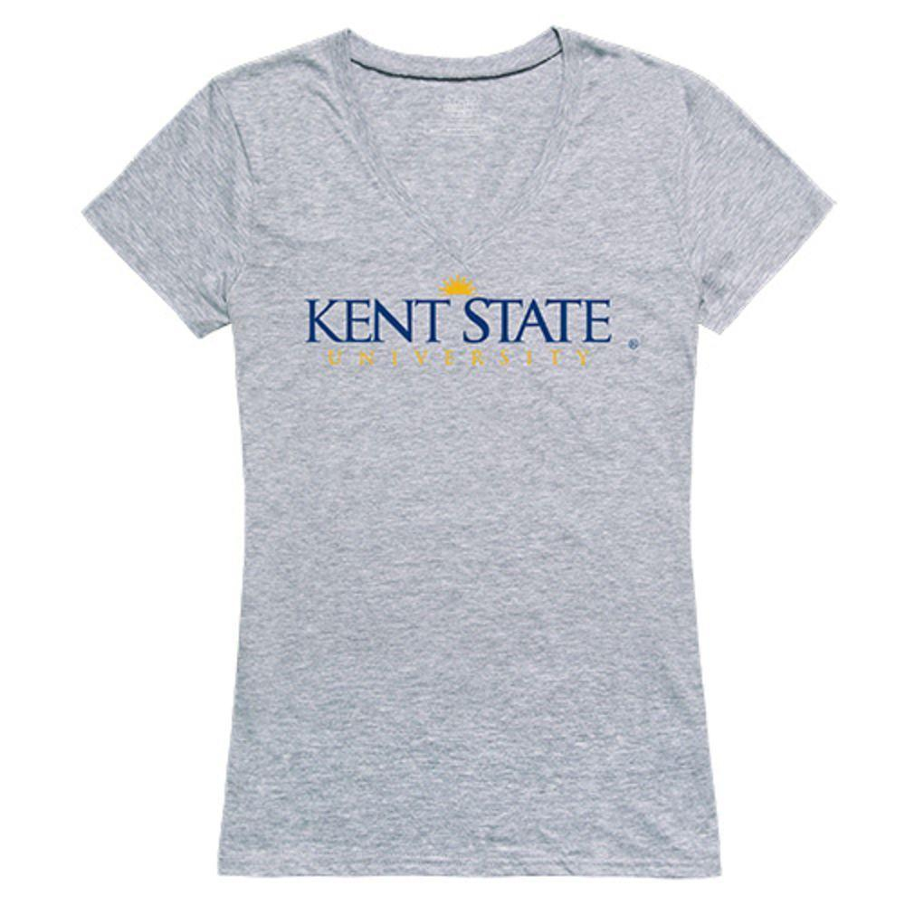 Kent State University The Golden Eagles NCAA Women's Seal Tee T-Shirt
