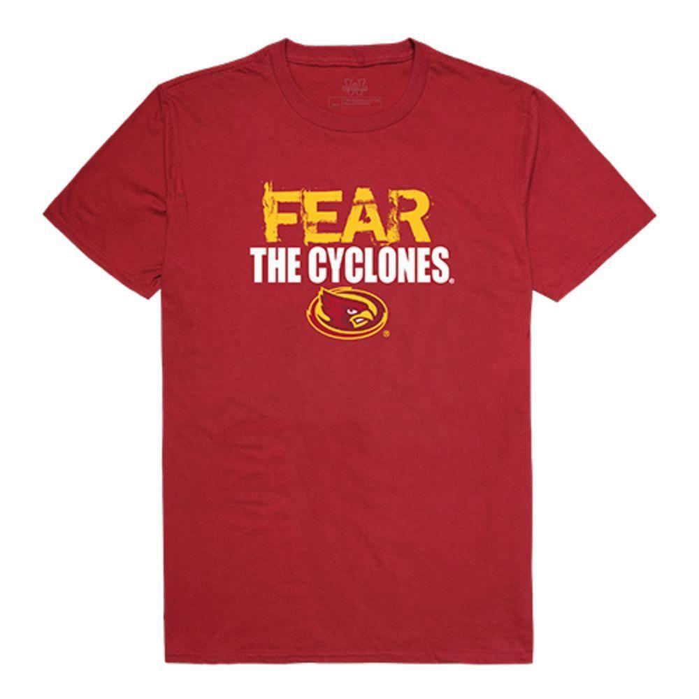 Iowa State University Cyclones NCAA Fear Tee T-Shirt Cardinal