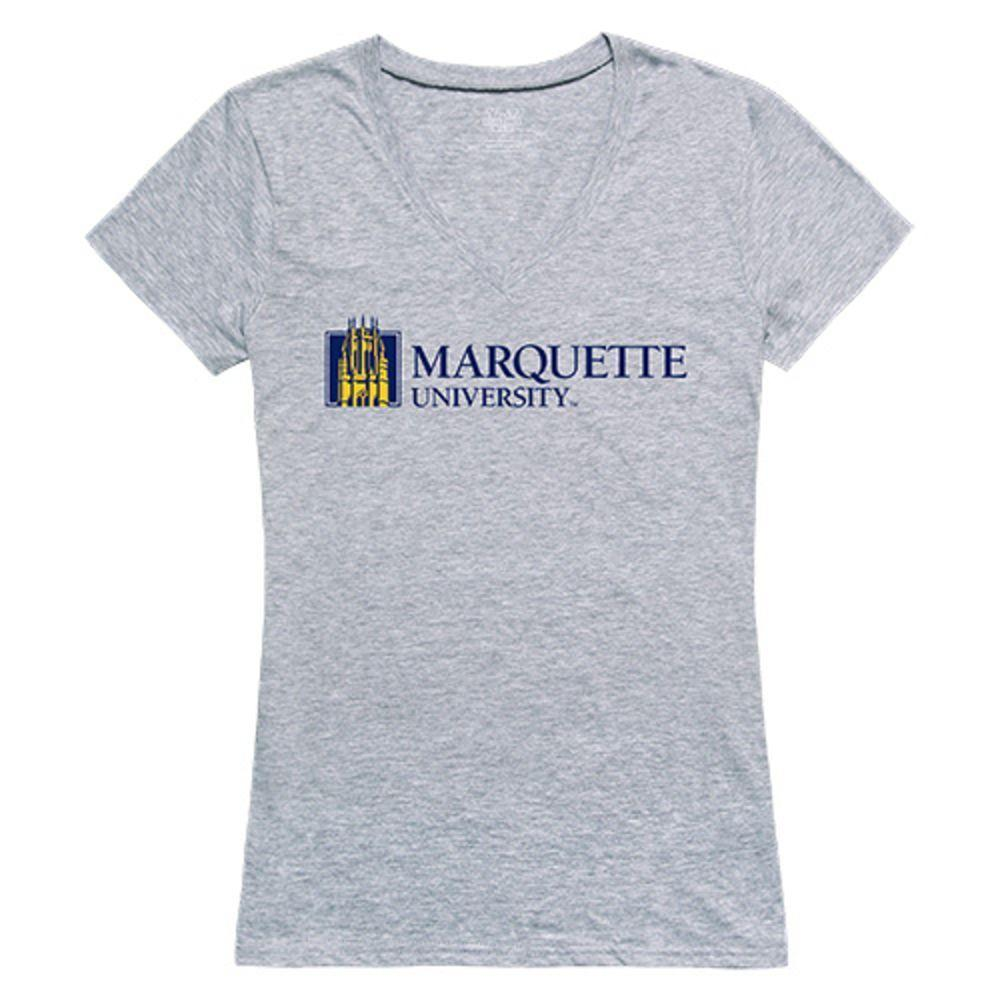 Marquette University Golden Eagles NCAA Women's Seal Tee T-Shirt