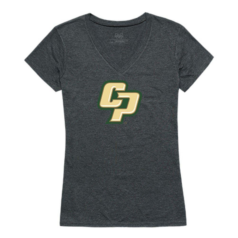 California Poly State University Mustangs NCAA Women's Cinder Tee T-Shirt