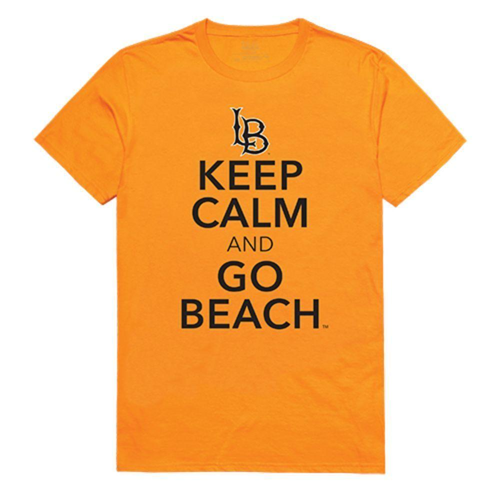 CSULB California State University Long Beach NCAA Keep Calm Tee T-Shirt