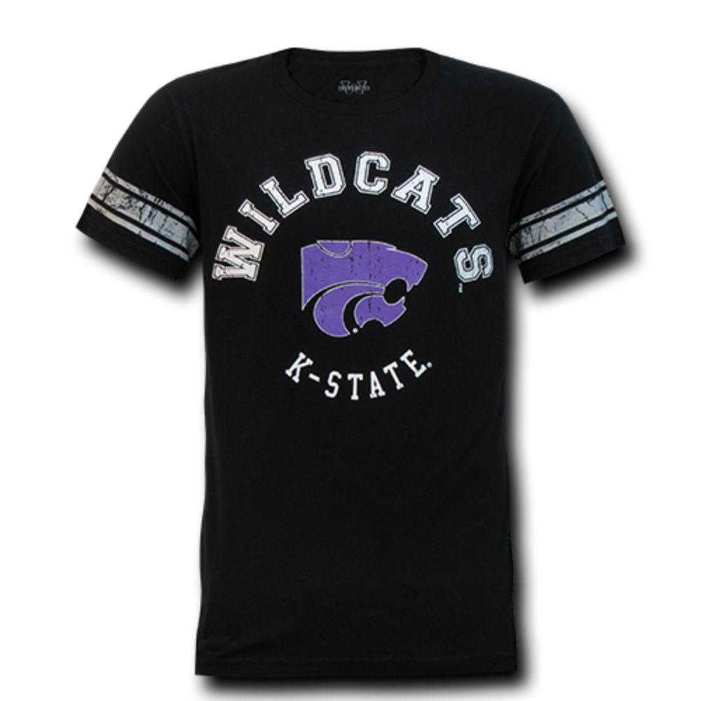 Kansas State University Wildcats NCAA Men's Football Tee T-Shirt