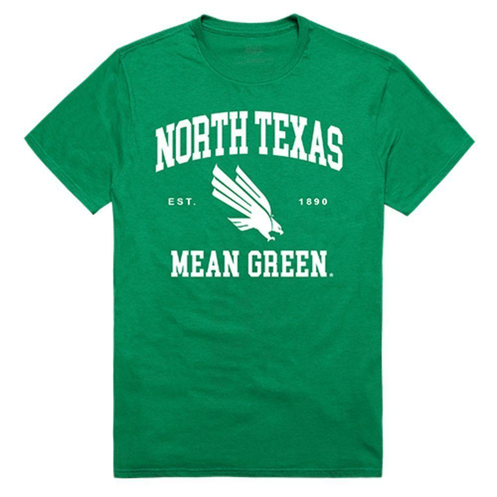 University of North Texas Mean Green NCAA Seal Tee T-Shirt Kelly