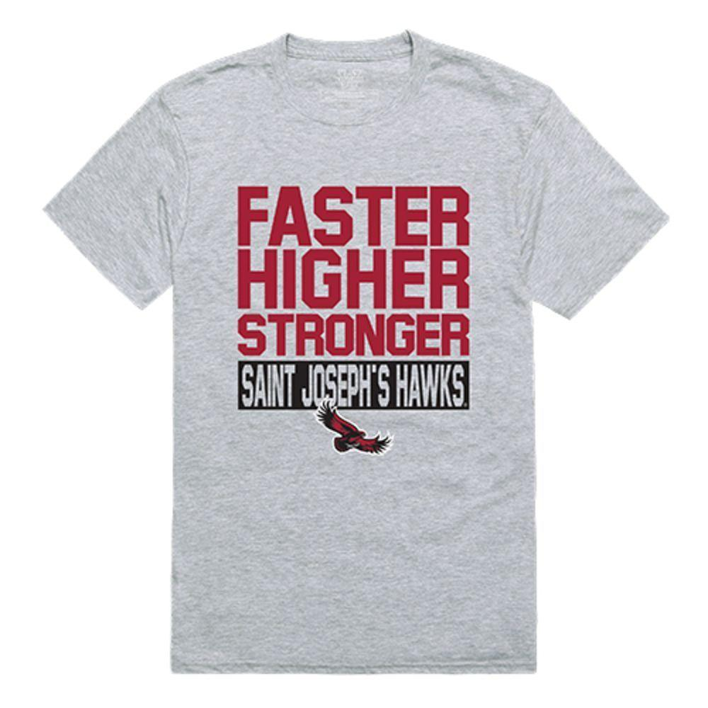 Saint Joseph's University Hawks NCAA Workout Tee T-Shirt
