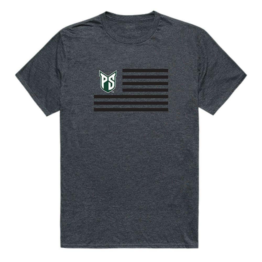 Portland State University Vikings NCAA Flag Tee T-Shirt