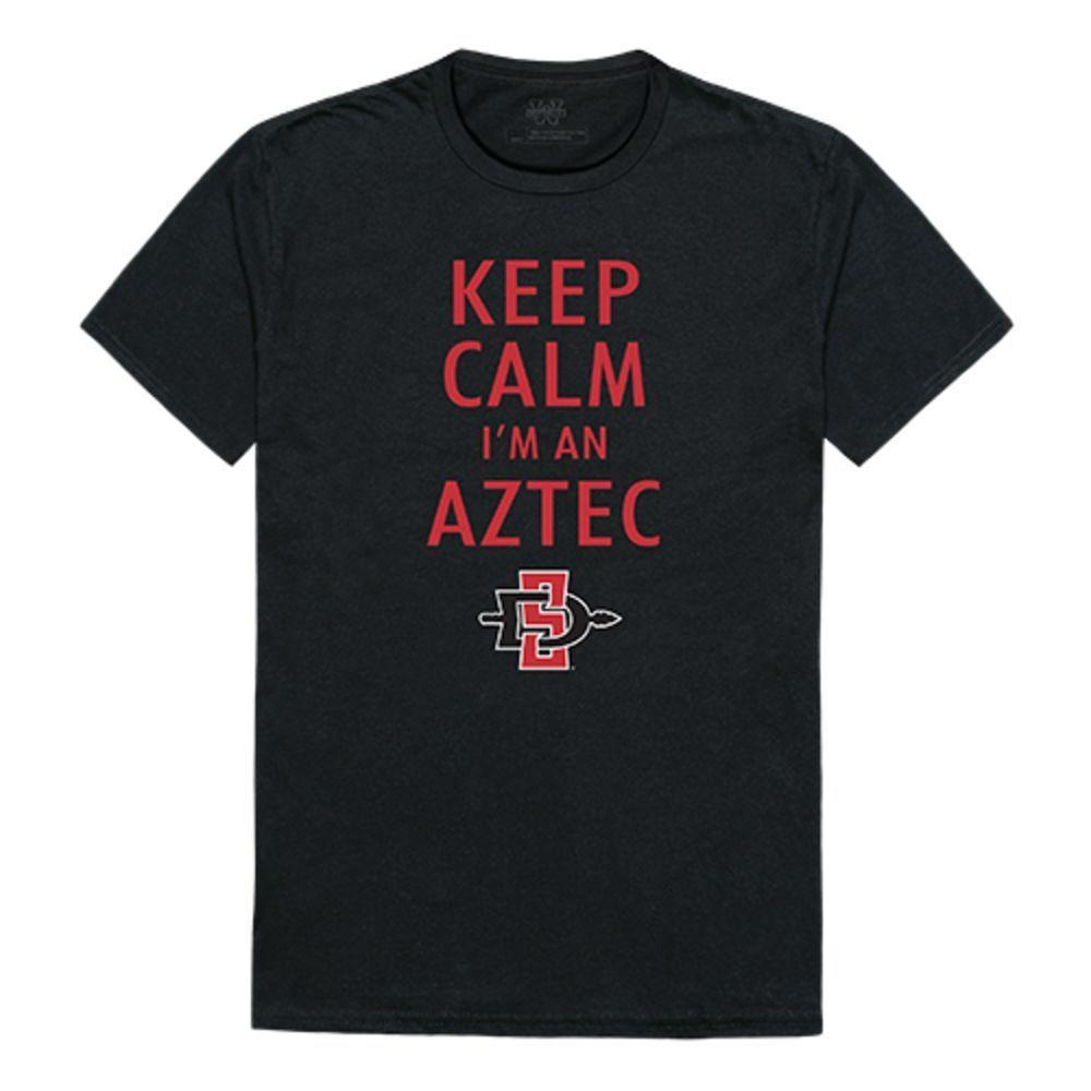 SDSU San Diego State University Aztecs NCAA Keep Calm Tee T-Shirt