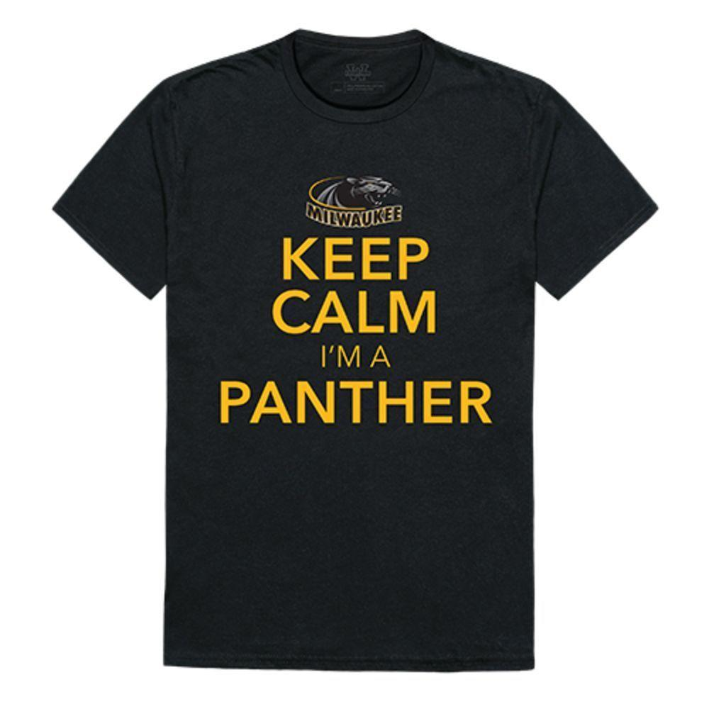 University of Wisconsin Milwaukee Panthers NCAA Keep Calm Tee T-Shirt