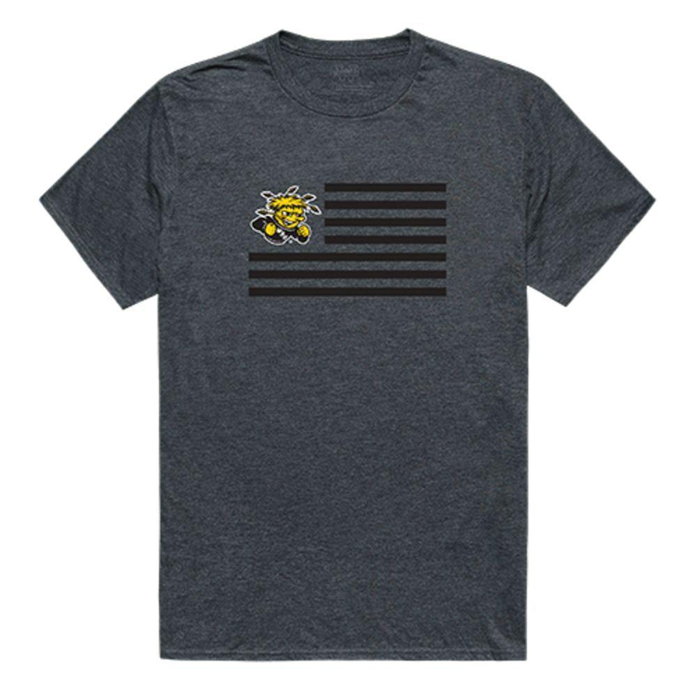 Wichita State University Shockers NCAA Flag Tee T-Shirt
