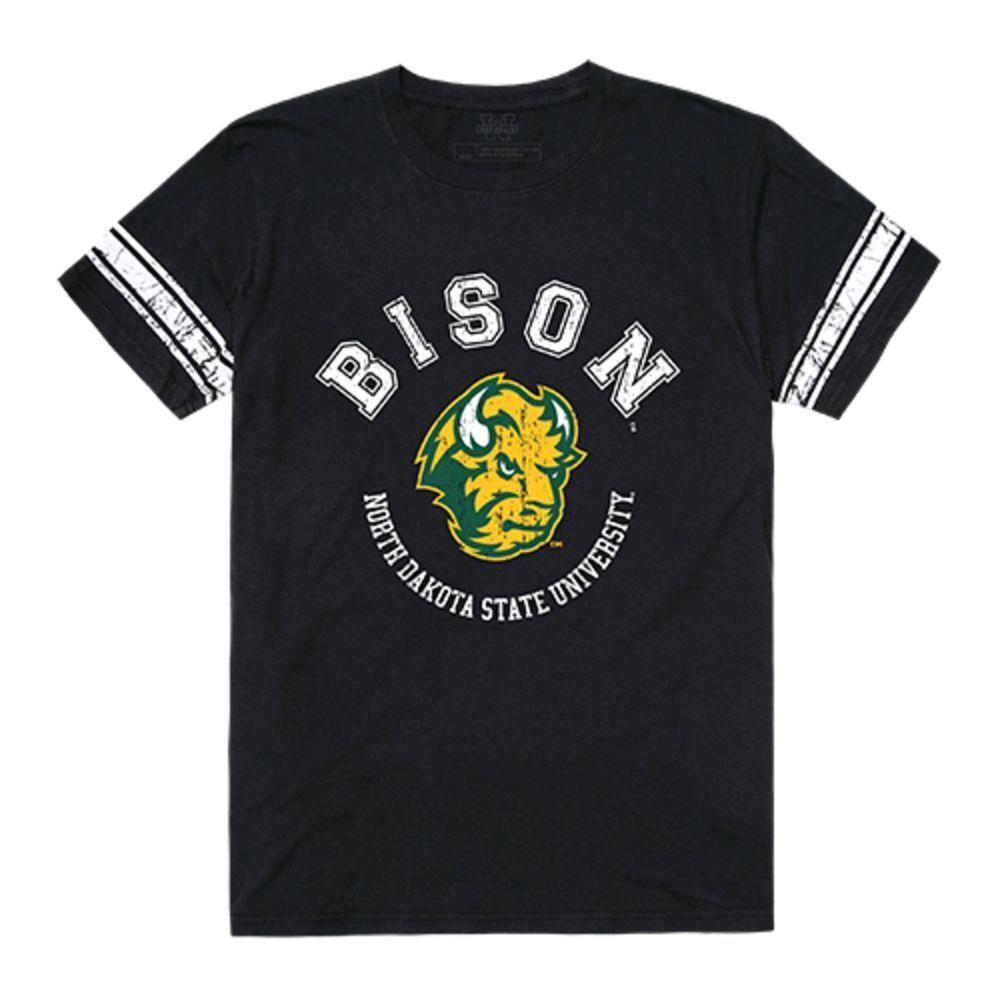 North Dakota State University Bison Thundering Herd NCAA Mens Football T-Shirt