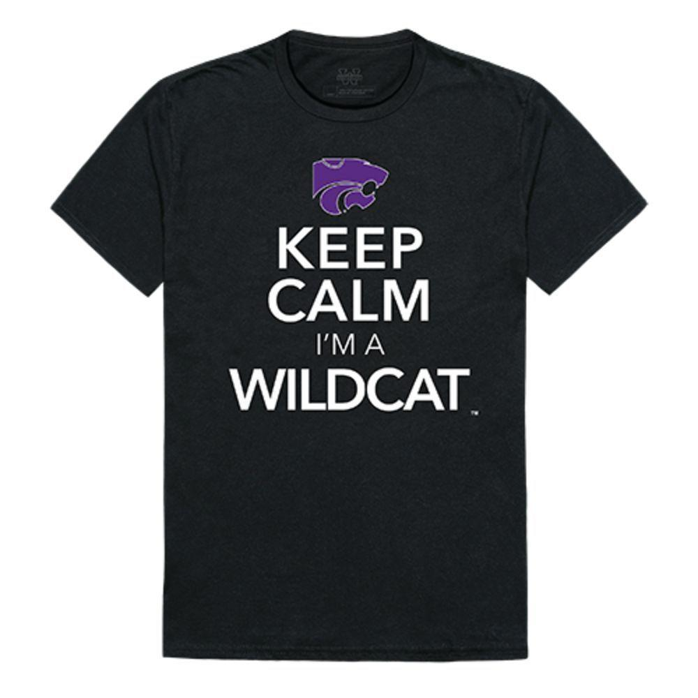 Kansas State University Wildcats NCAA Keep Calm Tee T-Shirt