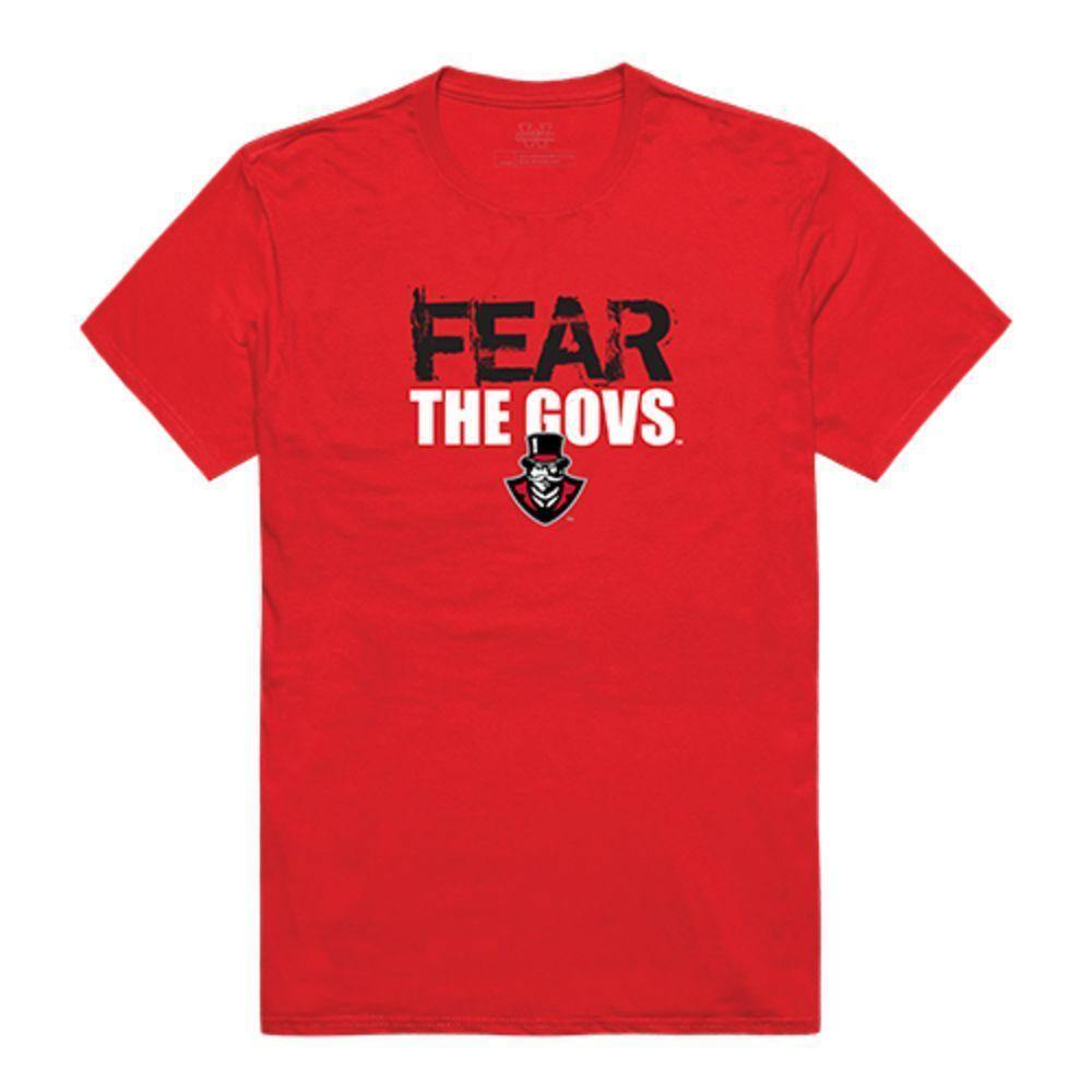 Austin Peay State University Governors NCAA Fear Tee T-Shirt Red