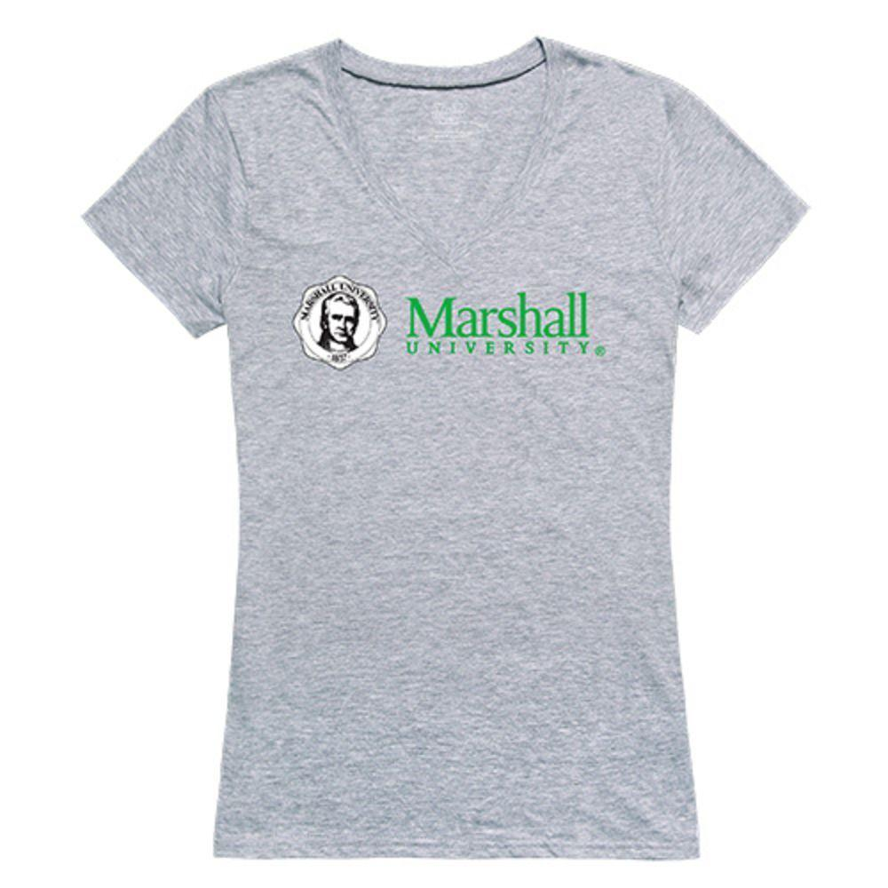 Marshall University Thundering Herd NCAA Women's Seal Tee T-Shirt