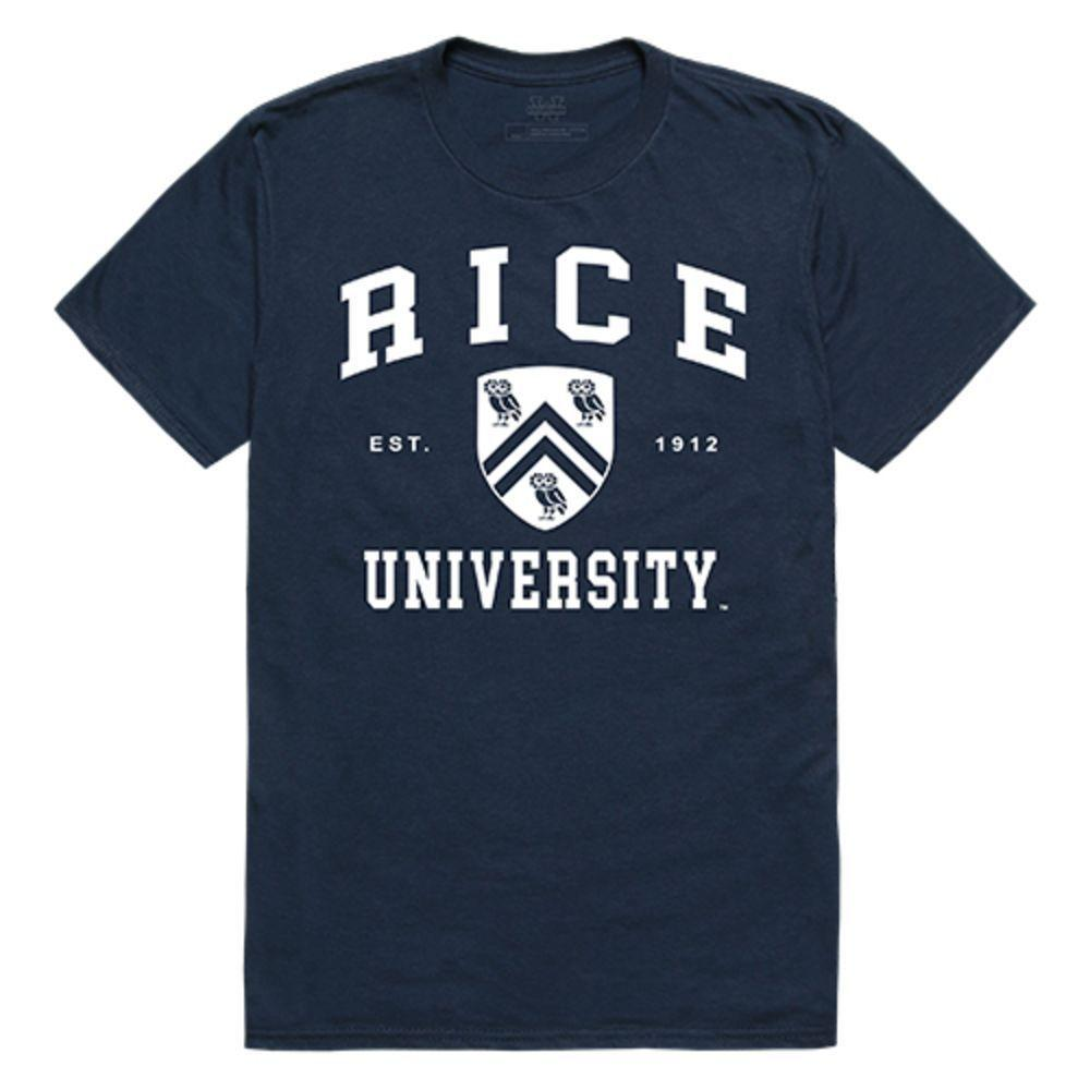 Rice University Owls NCAA Seal Tee T-Shirt