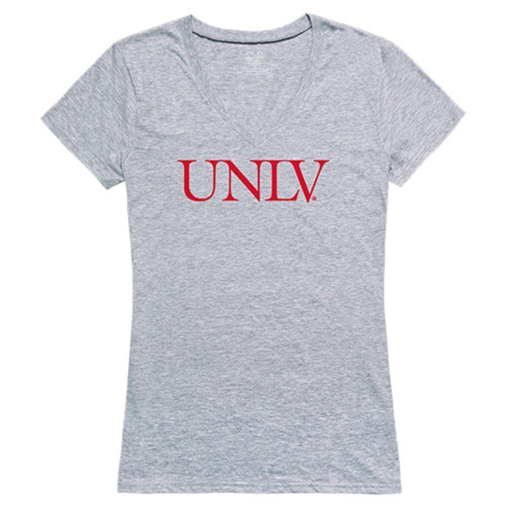 UNLV University of Nevada Las Vegas Rebels NCAA Women's Seal Tee T-Shirt