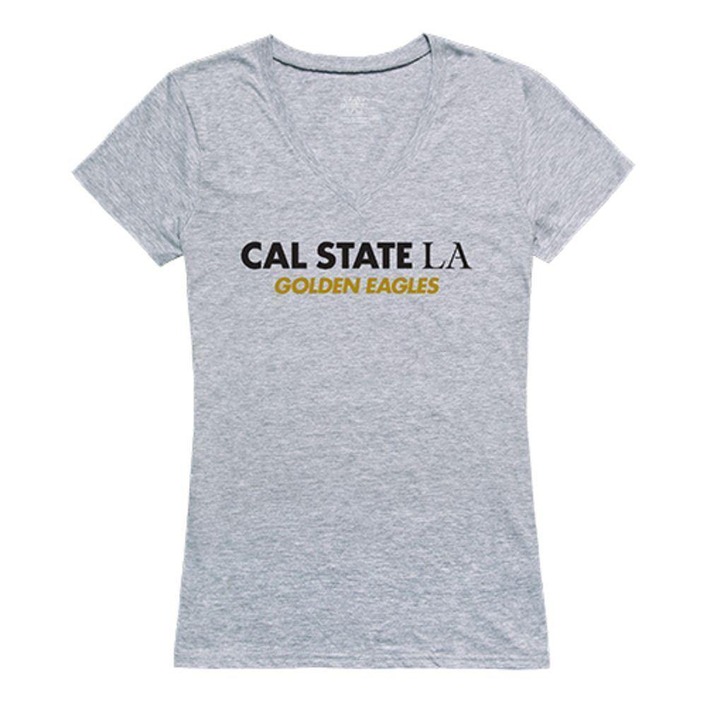Cal State University Los Angeles Golden Eagles NCAA Women's Seal Tee T-Shirt