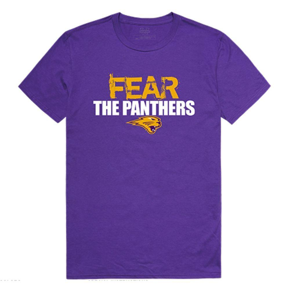 University of Northen Iowa Panthers NCAA Fear Tee T-Shirt Purple